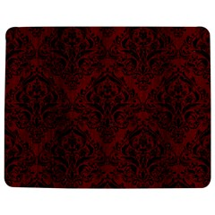 Damask1 Black Marble & Red Wood Jigsaw Puzzle Photo Stand (rectangular) by trendistuff