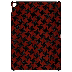 Houndstooth2 Black Marble & Red Wood Apple Ipad Pro 12 9   Hardshell Case by trendistuff