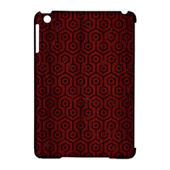 Hexagon1 Black Marble & Red Wood Apple Ipad Mini Hardshell Case (compatible With Smart Cover) by trendistuff
