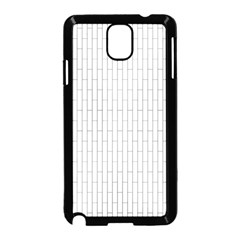 Line Black Samsung Galaxy Note 3 Neo Hardshell Case (black)