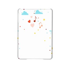 Music Cloud Heart Love Valentine Star Polka Dots Rainbow Mask Sky Ipad Mini 2 Hardshell Cases by Alisyart