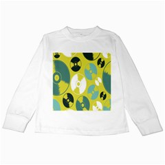 Streaming Forces Music Disc Kids Long Sleeve T Shirts