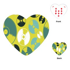 Streaming Forces Music Disc Playing Cards (heart)