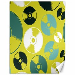 Streaming Forces Music Disc Canvas 12  X 16   by Alisyart