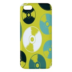 Streaming Forces Music Disc Apple Iphone 5 Premium Hardshell Case by Alisyart
