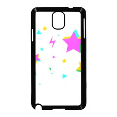 Star Triangle Space Rainbow Samsung Galaxy Note 3 Neo Hardshell Case (black)