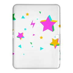 Star Triangle Space Rainbow Samsung Galaxy Tab 4 (10 1 ) Hardshell Case