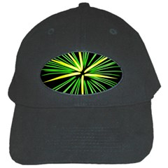 Fireworks Green Happy New Year Yellow Black Sky Black Cap by Alisyart