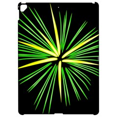 Fireworks Green Happy New Year Yellow Black Sky Apple Ipad Pro 12 9   Hardshell Case by Alisyart