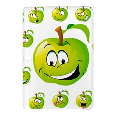 Apple Green Fruit Emoji Face Smile Fres Red Cute Samsung Galaxy Tab Pro 12 2 Hardshell Case