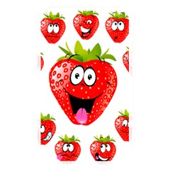 Strawberry Fruit Emoji Face Smile Fres Red Cute Memory Card Reader