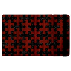Puzzle1 Black Marble & Red Wood Apple Ipad Pro 12 9   Flip Case by trendistuff