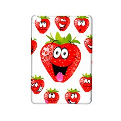 Strawberry Fruit Emoji Face Smile Fres Red Cute Ipad Mini 2 Hardshell Cases by Alisyart