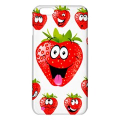 Strawberry Fruit Emoji Face Smile Fres Red Cute Iphone 6 Plus/6s Plus Tpu Case by Alisyart
