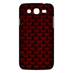 Scales3 Black Marble & Red Wood Samsung Galaxy Mega 5 8 I9152 Hardshell Case  by trendistuff