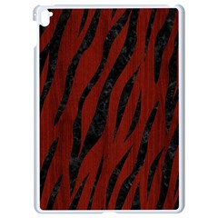 Skin3 Black Marble & Red Wood Apple Ipad Pro 9 7   White Seamless Case by trendistuff