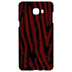 Skin4 Black Marble & Red Wood Samsung C9 Pro Hardshell Case  by trendistuff