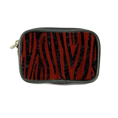 Skin4 Black Marble & Red Wood (r) Coin Purse by trendistuff