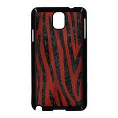 Skin4 Black Marble & Red Wood (r) Samsung Galaxy Note 3 Neo Hardshell Case (black) by trendistuff