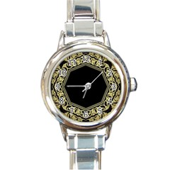Art Nouvea Antigue Round Italian Charm Watch by 8fugoso