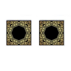 Art Nouvea Antigue Cufflinks (square) by 8fugoso