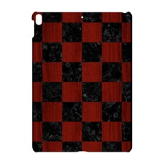 Square1 Black Marble & Red Wood Apple Ipad Pro 10 5   Hardshell Case by trendistuff