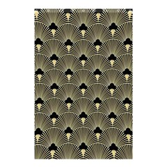 Art Deco Fan Pattern Shower Curtain 48  X 72  (small)  by 8fugoso