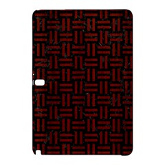 Woven1 Black Marble & Red Wood (r) Samsung Galaxy Tab Pro 10 1 Hardshell Case by trendistuff