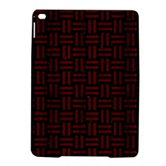 Woven1 Black Marble & Red Wood (r) Ipad Air 2 Hardshell Cases by trendistuff
