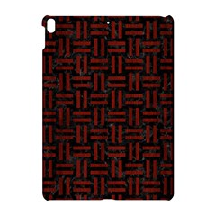 Woven1 Black Marble & Red Wood (r) Apple Ipad Pro 10 5   Hardshell Case by trendistuff