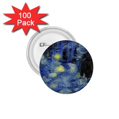 Van Gogh Inspired 1 75  Buttons (100 Pack)  by 8fugoso