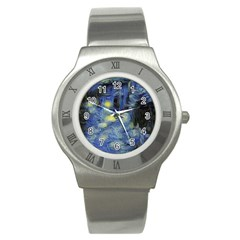 Van Gogh Inspired Stainless Steel Watch by 8fugoso