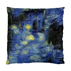 Van Gogh Inspired Standard Cushion Case (one Side) by 8fugoso