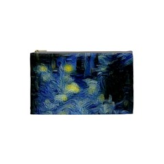 Van Gogh Inspired Cosmetic Bag (small)  by 8fugoso