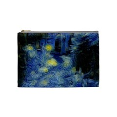 Van Gogh Inspired Cosmetic Bag (medium)  by 8fugoso