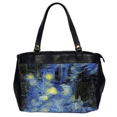 Van Gogh Inspired Office Handbags (2 Sides)  by 8fugoso