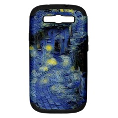Van Gogh Inspired Samsung Galaxy S Iii Hardshell Case (pc+silicone) by 8fugoso