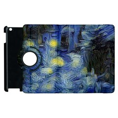 Van Gogh Inspired Apple Ipad 2 Flip 360 Case by 8fugoso