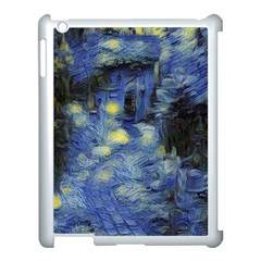 Van Gogh Inspired Apple Ipad 3/4 Case (white) by 8fugoso