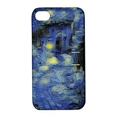 Van Gogh Inspired Apple Iphone 4/4s Hardshell Case With Stand by 8fugoso