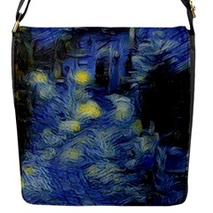 Van Gogh Inspired Flap Messenger Bag (s) by 8fugoso