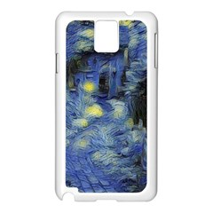Van Gogh Inspired Samsung Galaxy Note 3 N9005 Case (white) by 8fugoso