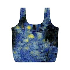 Van Gogh Inspired Full Print Recycle Bags (m)  by 8fugoso