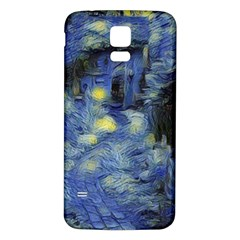 Van Gogh Inspired Samsung Galaxy S5 Back Case (white) by 8fugoso