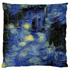 Van Gogh Inspired Standard Flano Cushion Case (one Side) by 8fugoso