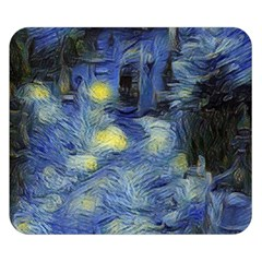 Van Gogh Inspired Double Sided Flano Blanket (small)  by 8fugoso