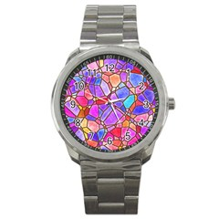 Mosaic Linda 1 Sport Metal Watch by MoreColorsinLife