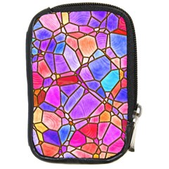 Mosaic Linda 1 Compact Camera Cases by MoreColorsinLife