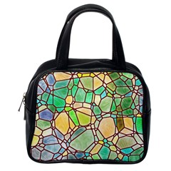 Mosaic Linda 2 Classic Handbags (one Side) by MoreColorsinLife