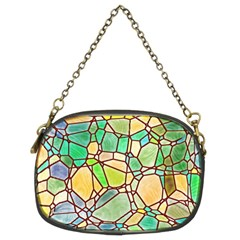 Mosaic Linda 2 Chain Purses (two Sides)  by MoreColorsinLife